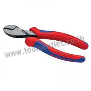 X-Cut Kompakt-Seitenschneider คีมตัด เครื่องตัดทแยงมุมแบบกะทัดรัด KNIPEX 73 02 160